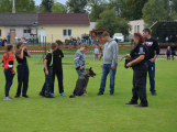 Dobříšský fotbalový stadion obsadily složky Integrovaného záchranného systému (3)