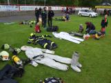 Dobříšský fotbalový stadion obsadily složky Integrovaného záchranného systému (17)