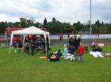 Dobříšský fotbalový stadion obsadily složky Integrovaného záchranného systému (18)