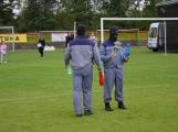 Dobříšský fotbalový stadion obsadily složky Integrovaného záchranného systému (19)