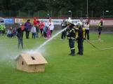 Dobříšský fotbalový stadion obsadily složky Integrovaného záchranného systému (24)
