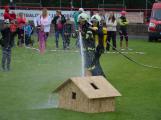 Dobříšský fotbalový stadion obsadily složky Integrovaného záchranného systému (25)