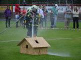 Dobříšský fotbalový stadion obsadily složky Integrovaného záchranného systému (26)
