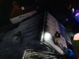 Požár rodinného domu ve Voznici způsobil dvoumilionovou škodu (6)