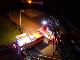 Požár rodinného domu ve Voznici způsobil dvoumilionovou škodu (7)