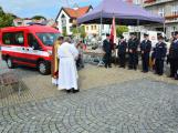 V sobotu oslavili březničtí hasiči narozeniny, mezi dárky byl i nový automobil (52)