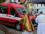 V sobotu oslavili březničtí hasiči narozeniny, mezi dárky byl i nový automobil (54)