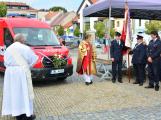 V sobotu oslavili březničtí hasiči narozeniny, mezi dárky byl i nový automobil (55)