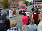 V sobotu oslavili březničtí hasiči narozeniny, mezi dárky byl i nový automobil (57)