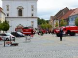 V sobotu oslavili březničtí hasiči narozeniny, mezi dárky byl i nový automobil (50)