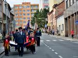 V sobotu oslavili březničtí hasiči narozeniny, mezi dárky byl i nový automobil (77)