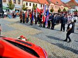V sobotu oslavili březničtí hasiči narozeniny, mezi dárky byl i nový automobil (70)