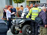 V sobotu oslavili březničtí hasiči narozeniny, mezi dárky byl i nový automobil (67)