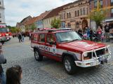 V sobotu oslavili březničtí hasiči narozeniny, mezi dárky byl i nový automobil (16)