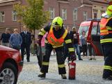 V sobotu oslavili březničtí hasiči narozeniny, mezi dárky byl i nový automobil (10)