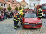 V sobotu oslavili březničtí hasiči narozeniny, mezi dárky byl i nový automobil (4)