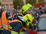 V sobotu oslavili březničtí hasiči narozeniny, mezi dárky byl i nový automobil (5)