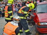 V sobotu oslavili březničtí hasiči narozeniny, mezi dárky byl i nový automobil (7)