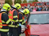 V sobotu oslavili březničtí hasiči narozeniny, mezi dárky byl i nový automobil (8)