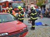 V sobotu oslavili březničtí hasiči narozeniny, mezi dárky byl i nový automobil (33)