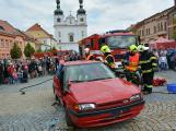 V sobotu oslavili březničtí hasiči narozeniny, mezi dárky byl i nový automobil (34)