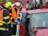 V sobotu oslavili březničtí hasiči narozeniny, mezi dárky byl i nový automobil (35)