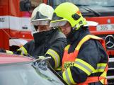 V sobotu oslavili březničtí hasiči narozeniny, mezi dárky byl i nový automobil (30)