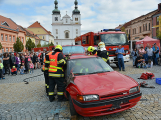 V sobotu oslavili březničtí hasiči narozeniny, mezi dárky byl i nový automobil (29)