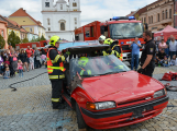 V sobotu oslavili březničtí hasiči narozeniny, mezi dárky byl i nový automobil (22)