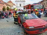V sobotu oslavili březničtí hasiči narozeniny, mezi dárky byl i nový automobil (23)