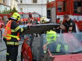V sobotu oslavili březničtí hasiči narozeniny, mezi dárky byl i nový automobil (24)