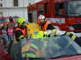 V sobotu oslavili březničtí hasiči narozeniny, mezi dárky byl i nový automobil (25)