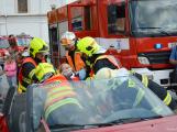 V sobotu oslavili březničtí hasiči narozeniny, mezi dárky byl i nový automobil (26)