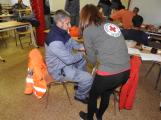 Cvičení záchranných složek: Na Příbramsku havaroval autobus s vězni, dva utekli (16)