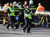 Cvičení záchranných složek: Na Příbramsku havaroval autobus s vězni, dva utekli (7)
