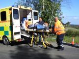 Cvičení záchranných složek: Na Příbramsku havaroval autobus s vězni, dva utekli (12)