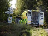 Cvičení záchranných složek: Na Příbramsku havaroval autobus s vězni, dva utekli (13)