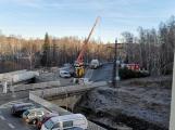 Nový most přes Litavku byl slavnostně otevřen ()