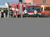 Složky IZS procvičovaly zásah u požáru s výskytem nebezpečné látky (58)