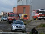 Složky IZS procvičovaly zásah u požáru s výskytem nebezpečné látky (66)