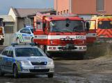 Složky IZS procvičovaly zásah u požáru s výskytem nebezpečné látky (67)