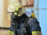 Složky IZS procvičovaly zásah u požáru s výskytem nebezpečné látky (109)