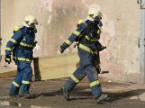 Složky IZS procvičovaly zásah u požáru s výskytem nebezpečné látky (93)