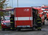 Složky IZS procvičovaly zásah u požáru s výskytem nebezpečné látky (97)