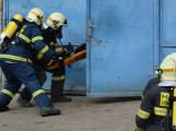 Složky IZS procvičovaly zásah u požáru s výskytem nebezpečné látky (24)