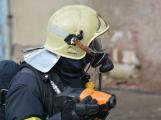 Složky IZS procvičovaly zásah u požáru s výskytem nebezpečné látky (14)