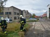Složky IZS procvičovaly zásah u požáru s výskytem nebezpečné látky (11)