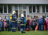 Složky IZS procvičovaly zásah u požáru s výskytem nebezpečné látky (44)