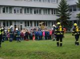 Složky IZS procvičovaly zásah u požáru s výskytem nebezpečné látky (45)
