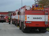 Složky IZS procvičovaly zásah u požáru s výskytem nebezpečné látky (51)